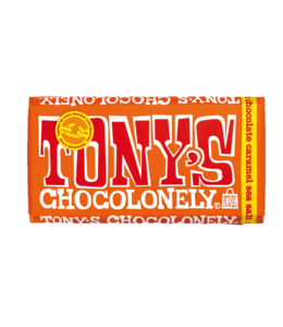 Tony Chocoloney Milk Caramel Sea Salt 6oz