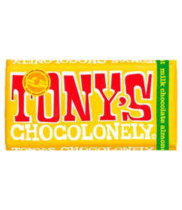 Tony Chocoloney Milk Chocolate Honey Almond Nougat
