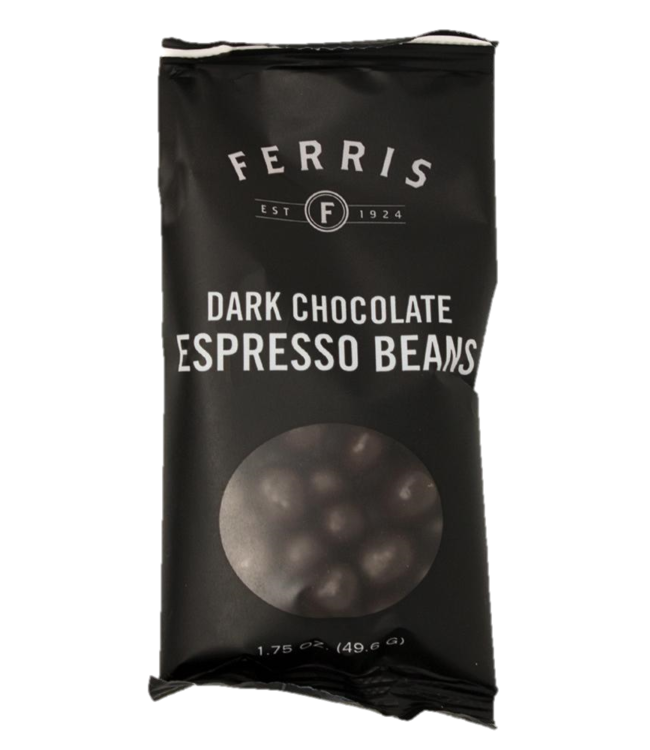 Ferris Dark Chocolate Espresso Beans 1.75oz
