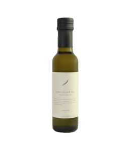 Canaan Chili Crushed Organic Olive Oil Bottle
