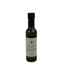 Canaan Garlic Crushed Organic Olive Oil Bottle