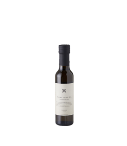 Canaan Thyme Crushed Organic Olive Oil Bottle
