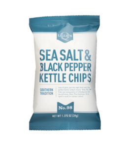 Lillie's Q Sea Salt & Black Pepper Kettle Chips 1.375oz