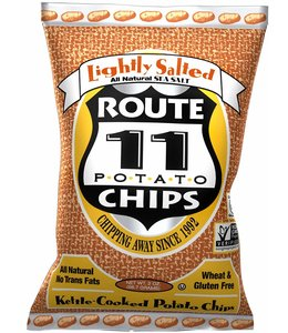 Route 11 Potato Chips Light Salted - 6oz