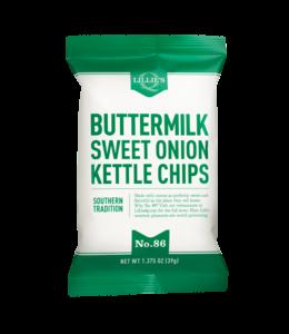 Lillie's Q Buttermilk & Sweet Onion Kettle Chips 1.375oz