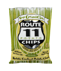 Route 11 Potato Chips Sour Cream & Chive - 6oz