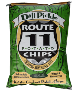 Route 11 Potato Chips Dill Pickle - 6oz