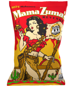 Route 11 Potato Chips Mama Zuma's Revenge - Red Habanero 2oz