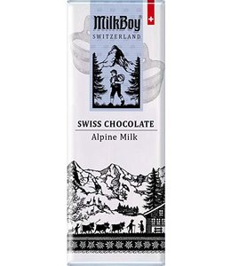 Milkboy Swiss Alpine Milk Chocolate Snack Size Bars