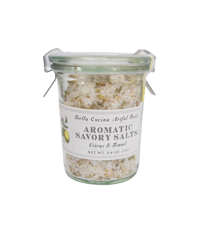 Bella Cucina Citrus and Fennel Savory Salt