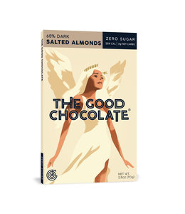 The Good Chocolate Almond Bar