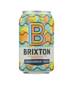 Brixton Coldharbour Lager Can