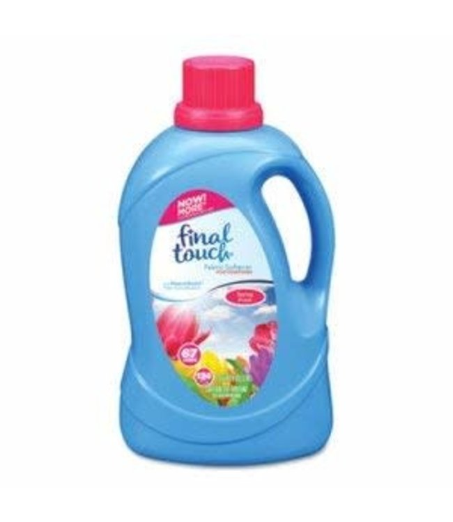 Final Touch Spring Fresh Fabric Softener - 134oz