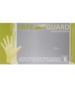 Latex Gloves (Powder Free) - Large - 1x100 Pack