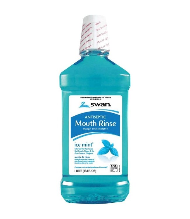 Swan Blue Mint Mouthwash - 1Liter