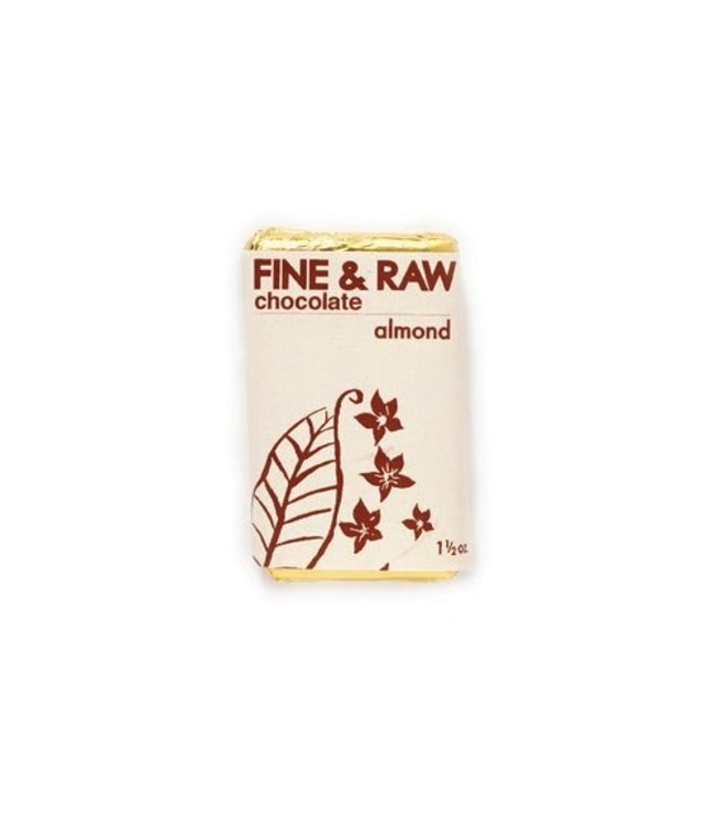 Fine and Raw Small 1.5 oz almond chunky