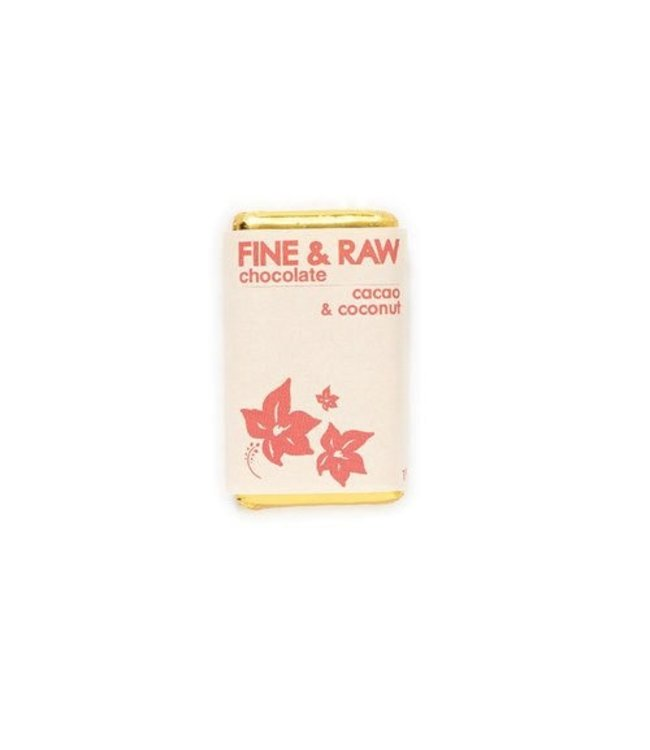 Fine and Raw Small 1.5 oz cacao & chocolate