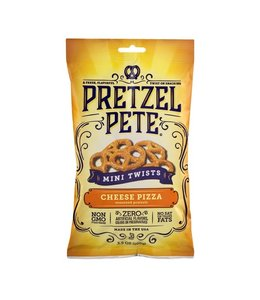 Pretzel Pete Cheese Pizza Mini Twist Pretzels (3.5 oz)