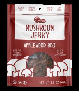 Pan's Mushroom Jerky Applewood BBQ