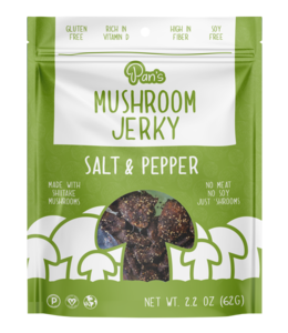 Pan's Mushroom Jerky Sea Salt & Pepper