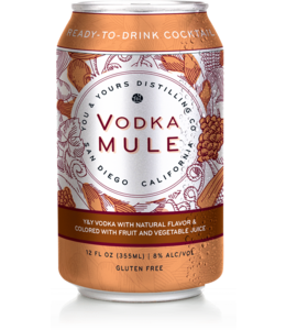 You & Yours Vodka Mule (4pk cans)