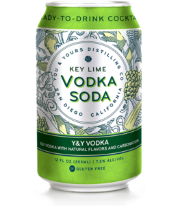 You & Yours Vodka Key Lime (4pk cans)