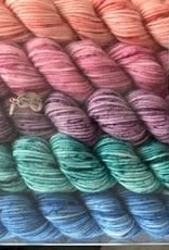 Log House Cottage Log House Cottage Stitch Palette mini skein set