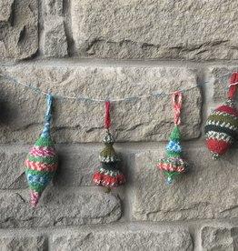 Village Laine Knit Tree Ornament Class