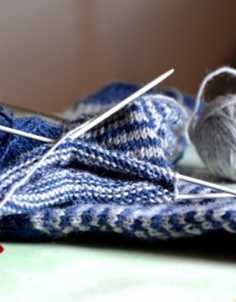 Village Laine Afterthought Heel Sock Class
