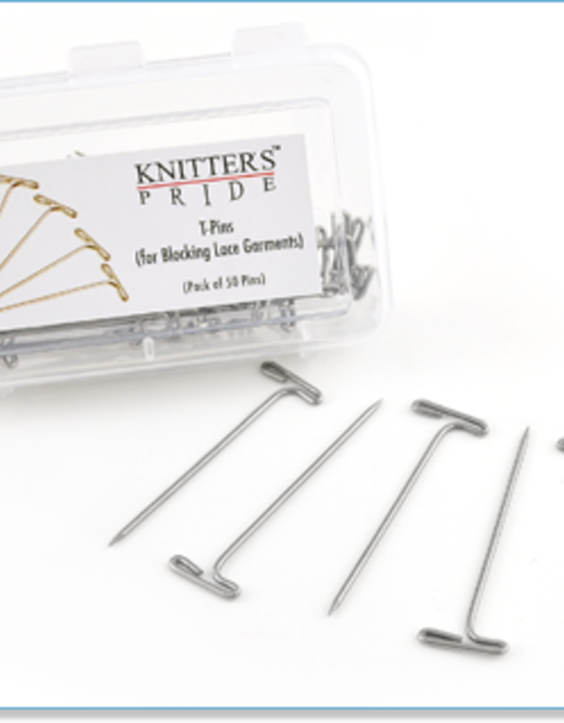 Knitters Pride T-Pins (Blocking Pins)