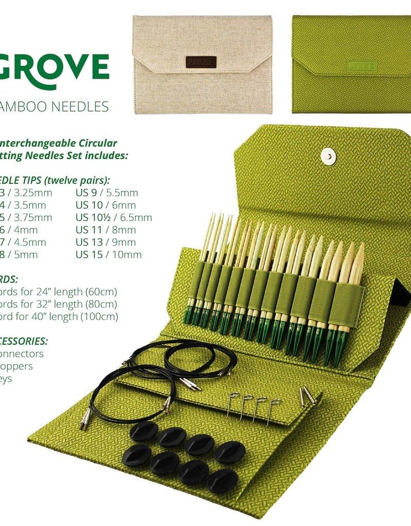 """Lykke Lykke Grove Interchangeable Needle Set 5"""""""