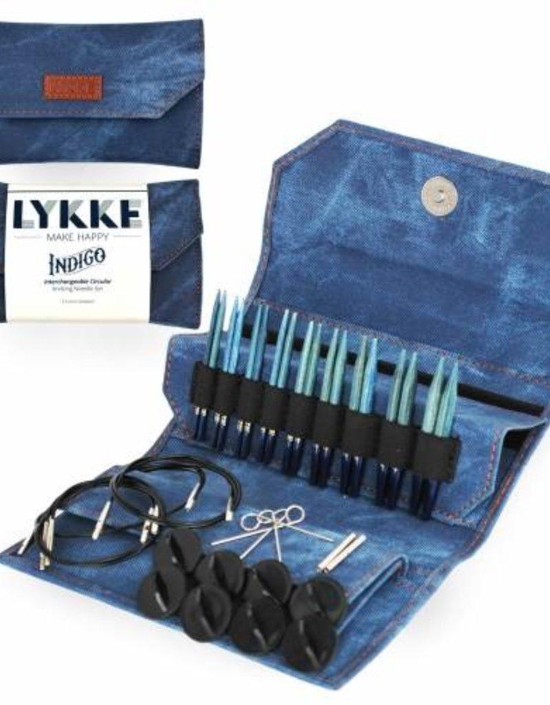 """Lykke Lykke Indigo Interchangeable 5"""" Needle Set"""