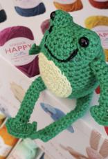 Village Laine Amigurumi  (Frog) Class Thursday April 23rd 2020