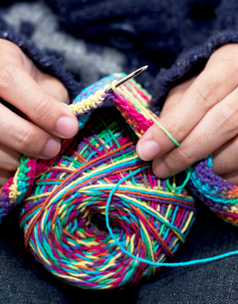 Village Laine Learn to Knit Class  Thursday March  26th 2020