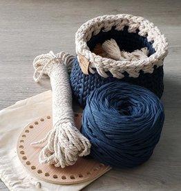Aster & Vine Aster & Vine Crochet Basket Kit