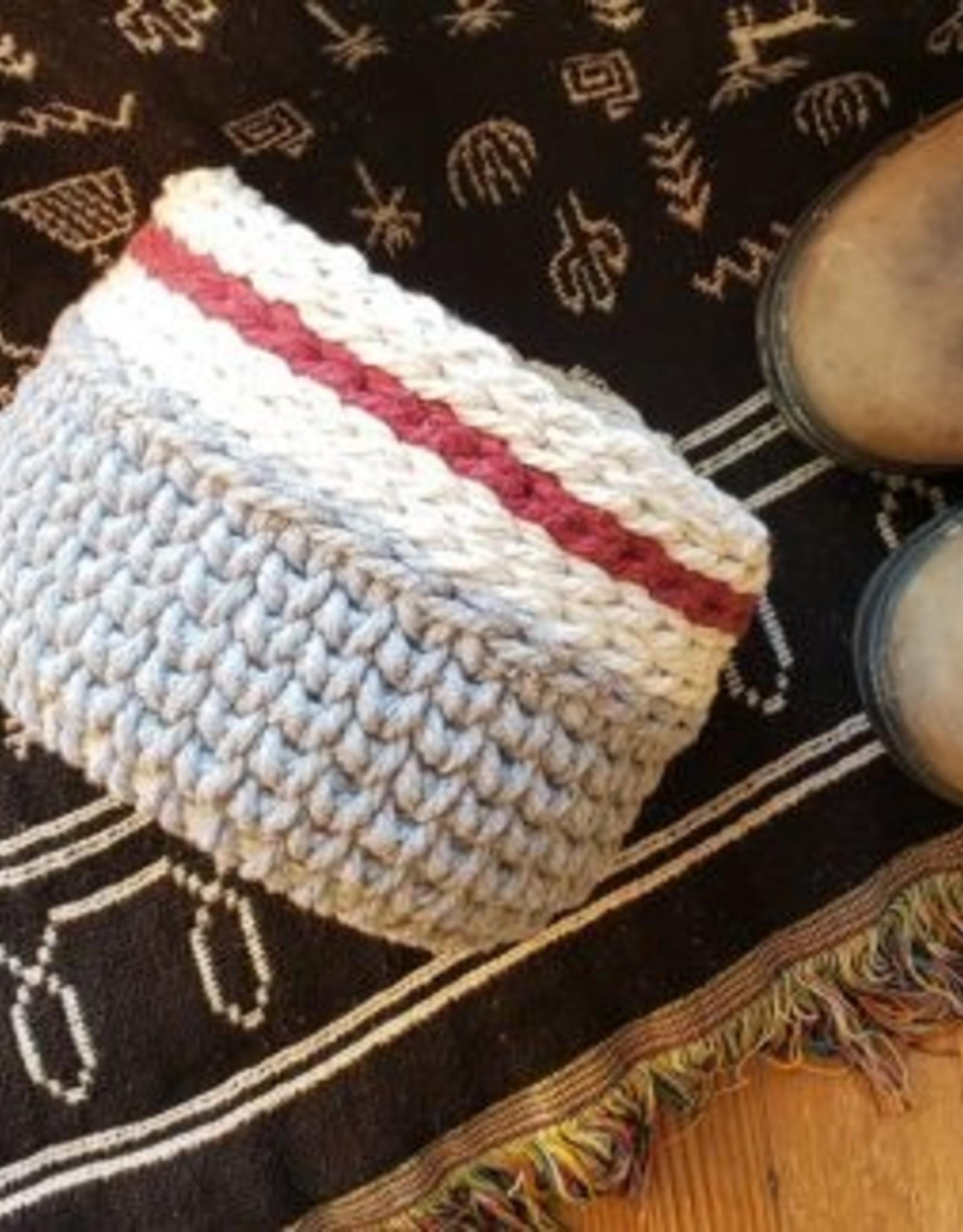 Aster & Vine Cabin Crochet Basket - Crochet Kit