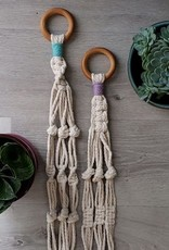 Aster & Vine Simple Plant Hanger Kit - Macrame