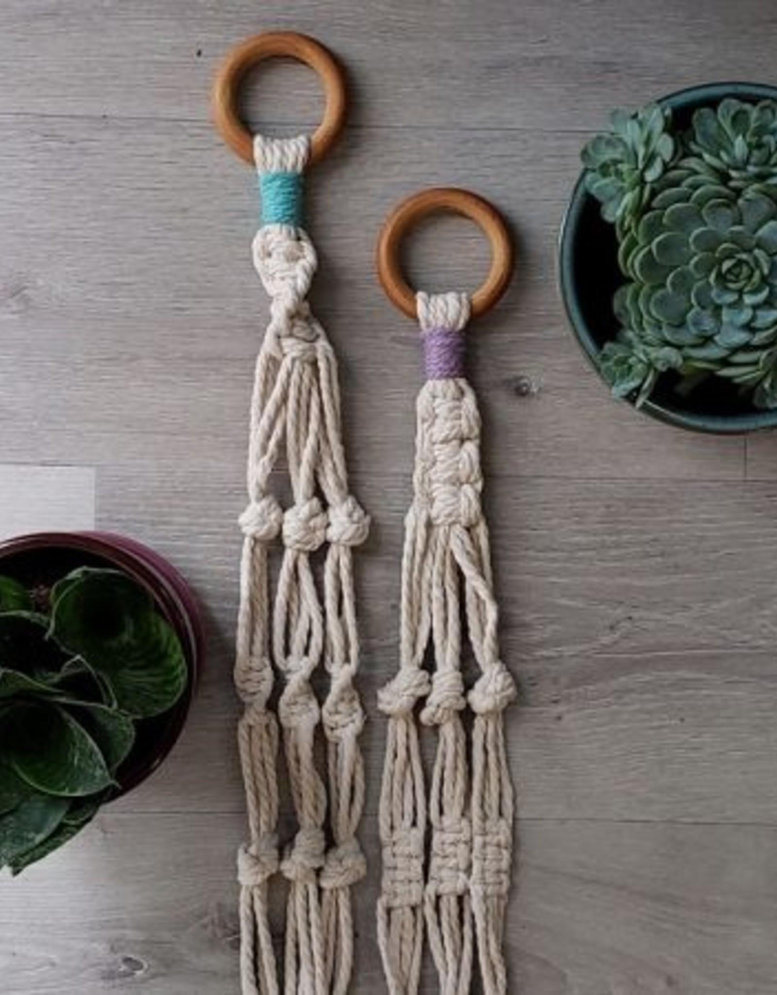 Aster & Vine Simple Plant Hanger Kit - Macrame