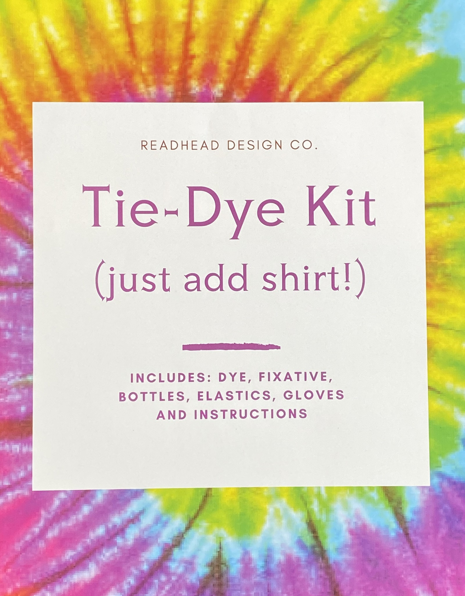 Readhead Design Co. Tie-Dye Kit