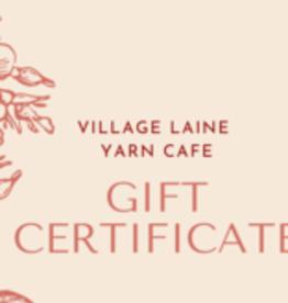 Village Laine Gift Certificate
