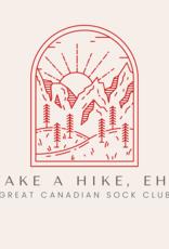 Village Laine Take a Hike, Eh? Sock Club