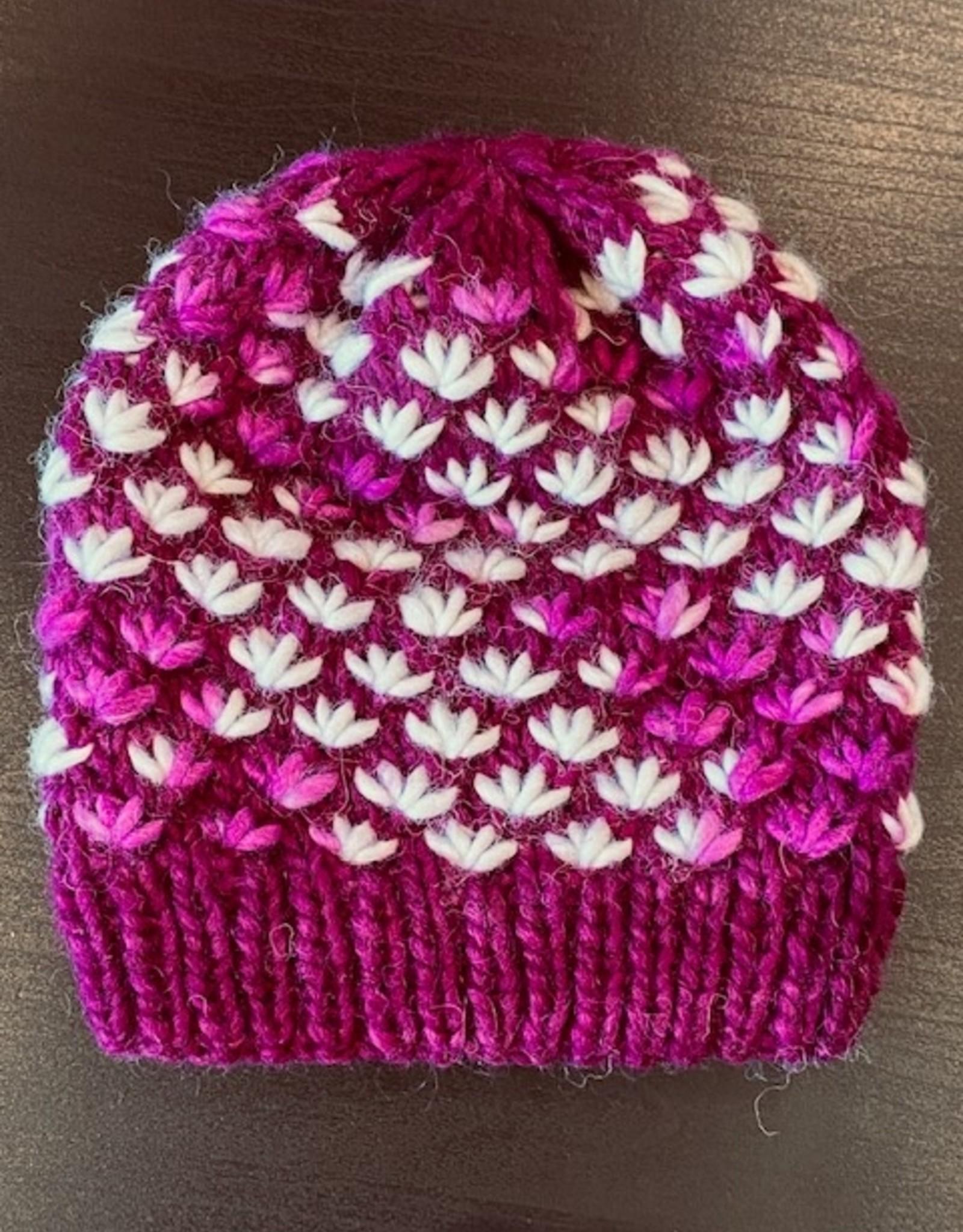 Prairie Spirit Alpacas Lotus Beanie Hat Kit