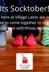 Village Laine Socktober Donation
