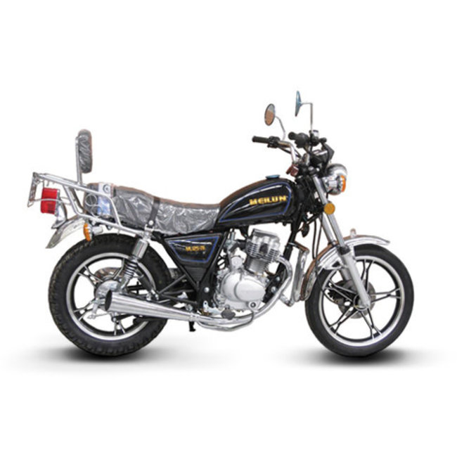 Meilun Street Bike 125cc Black Meilun ML125-7BLACK