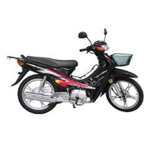 Meilun Bike- Scooter 100cc Black Meilun