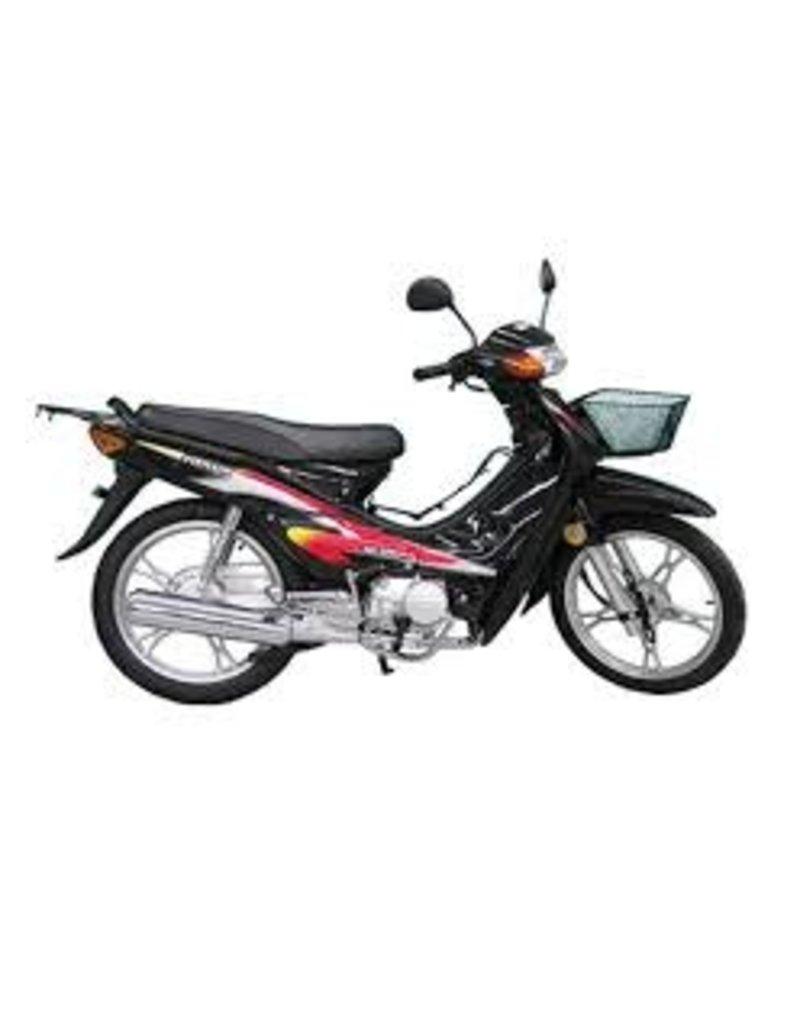 Meilun Bike-Scooter 100cc Black Meilun