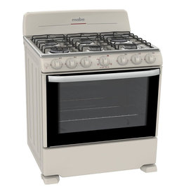 "Mabe Mabe Stove 30"" Bisque EM7645BAIL0"