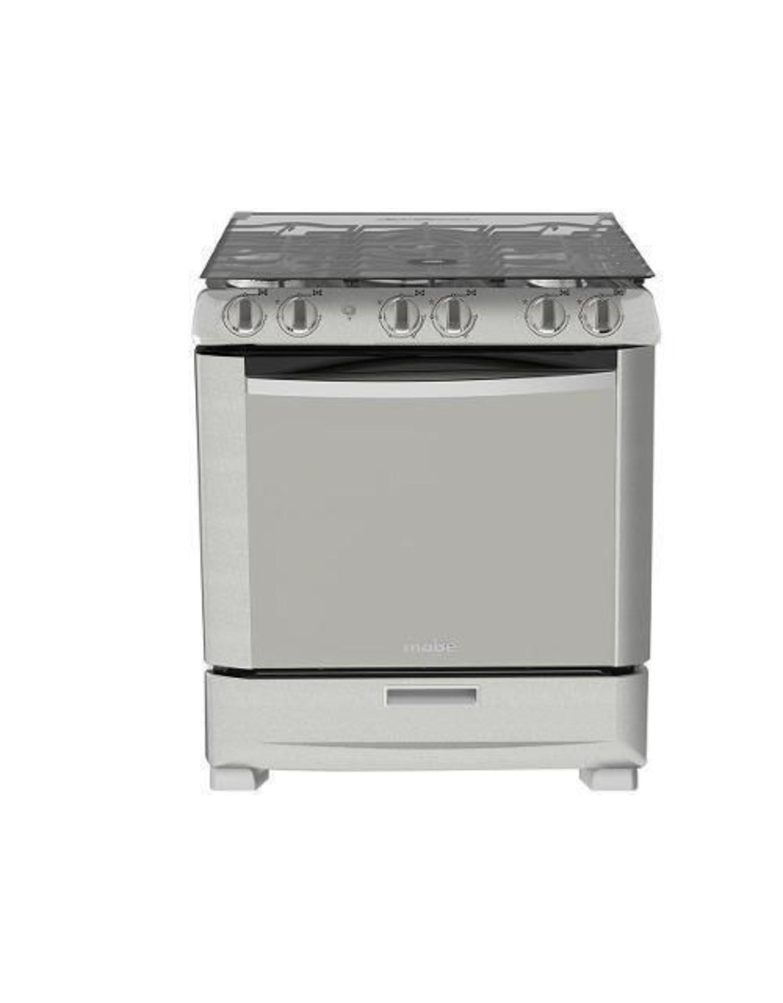 "Mabe Mabe Stove 30"" s/steel w/broiler w/cover EM7672MSCFX0"