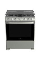 """Mabe Mabe Stove 30"""" s/steel Silver w/cover EM7657CSIS0"""