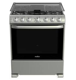 "Mabe Mabe Stove 30"" s/steel Silver w/cover EM7657CSIS0"